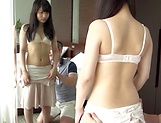 Kinky hunk gets his pleasure rod teased by a sexy Asian beauty picture 13