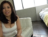 Appealing Asian milf enjoys rear pussy pounding picture 1