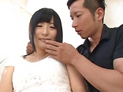 Beautiful Ayaka Yamada loves it when her cunt get teased