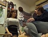 Big tits Mishima Natsuko hard fucked on cam picture 11