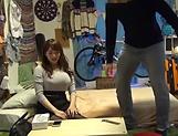 Big tits Mishima Natsuko hard fucked on cam