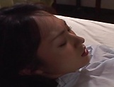 Alluring Tokyo married woman toying picture 15