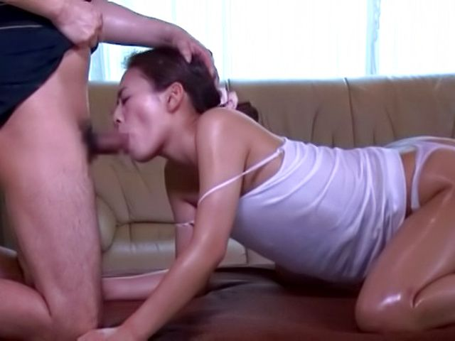 Sexy sweet milf enjoys getting massaged well