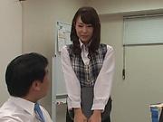 Sizzling hot hardcore session for Imai Mayumi