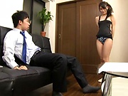Sweet Tokyo milf gets bonked by a hunk stud