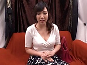 Busty milf gets rid of her sexual thirst