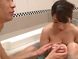 Sakuragi Yukine ,makes a dude get a cumshot
