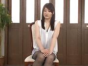 Ikushima Ryou ,gets kinky on her horny self