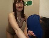 Lsutful milf bimbo enjoying a stimulating threesome picture 11