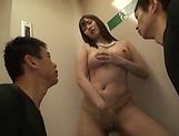 Lsutful milf bimbo enjoying a stimulating threesome picture 13