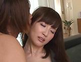 Sexy babe Misaki Kohanai fucks pretty well picture 15