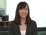 Sexy babe Misaki Kohanai fucks pretty well