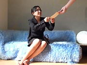 Japanese amazing wife services a throbbing dick