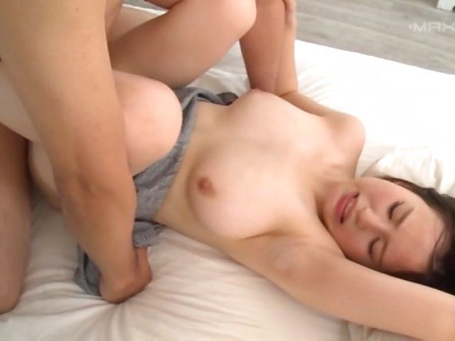 Crazy Japanese milf goes hardcore anal gets it creampied