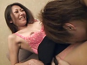 Lovie gets her cunt shagged hard and deep
