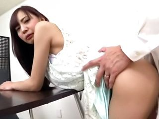 Naughty Asian milf gets wild rear fucking