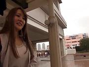 Japanese amateur vixen excites in a cute scene