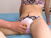 Hardcore Asian milf gives a steamy hot blowjob