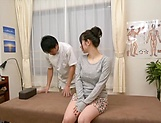 Hot tit fuck and pussy fingering for a cute Asian milf Saitou Miyu