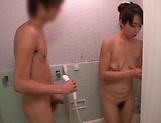 Amateur cute Asian milf in kinky blowjob scene