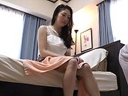Seductive milf fingered and slammed by lucky dude