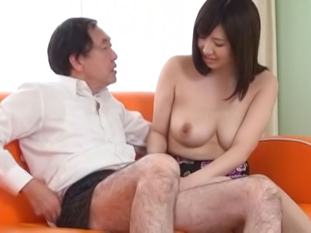Kinky Asian milf gives a steamy blowjob indoors