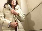 Sexy Shiraishi Sumire gags on an unbeing schlong