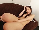 Sexy Mochizuki Yuna receives big dick in her tiny vagina picture 4
