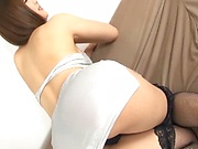 Gorgeous milf with large tits, hard fucked on cam