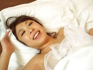 Japanese married woman blowing good