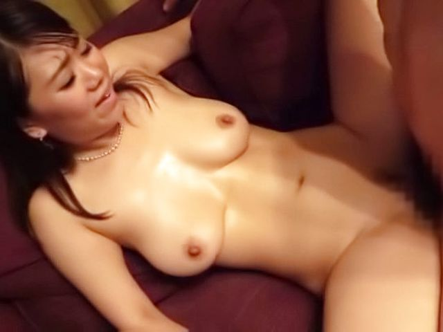 Japanese married woman drilled