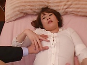 Amazing Asian milf moans and cries in hardcore