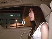 Kitano Nozomi works her deep warm muff