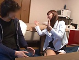 Amateur hottie Koike Nao enjoys getting her muff teased