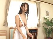 Sultry babe Shinoda Ayumi enjoys a wild cock screw