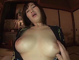 Busty milf, Hoshi Megumi, fucked in perfec POV picture 13