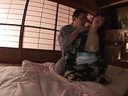 Busty milf, Hoshi Megumi, fucked in perfec POV