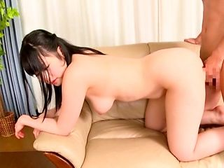 Sexy Japanese wife deals hubby's cock in insane modes