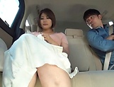 Juicy Japanese milf featured in a crazy public sex picture 11