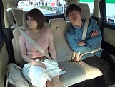 Juicy Japanese milf featured in a crazy public sex picture 12