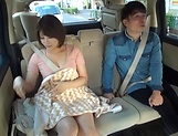 Juicy Japanese milf featured in a crazy public sex picture 13