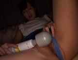 Misaki Kohanai enjoying a session with toys picture 15