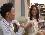 Uehara Mizuho ,excels in her dick riding skills