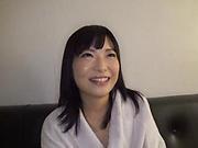 Naked Ayaka Yamada, strong vibrator porn play