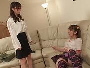 Yuu Kawakami and Yui Hatano fucking superbly