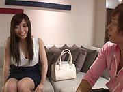 Kitano Nozomi enjoys an erotic pussy licking