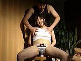 Mizuna Wakatsuki fucked with toys and made to swallow picture 14