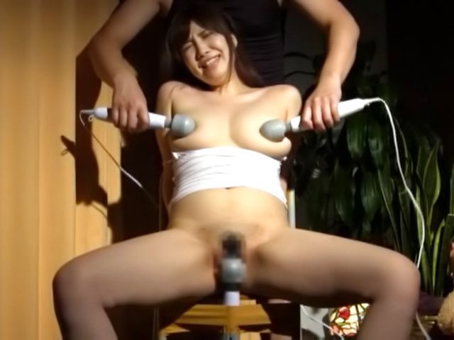 Mizuna Wakatsuki fucked with toys and made to swallow