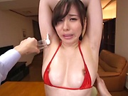 Savory Egami Shiho treated to stimulating action