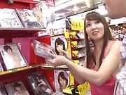 Sleazy angel Tomoda Ayaka gets a wild hardcore session